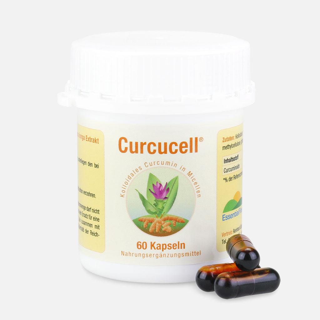 60 Kapseln Curcucell (Curcumin) | Essential Foods