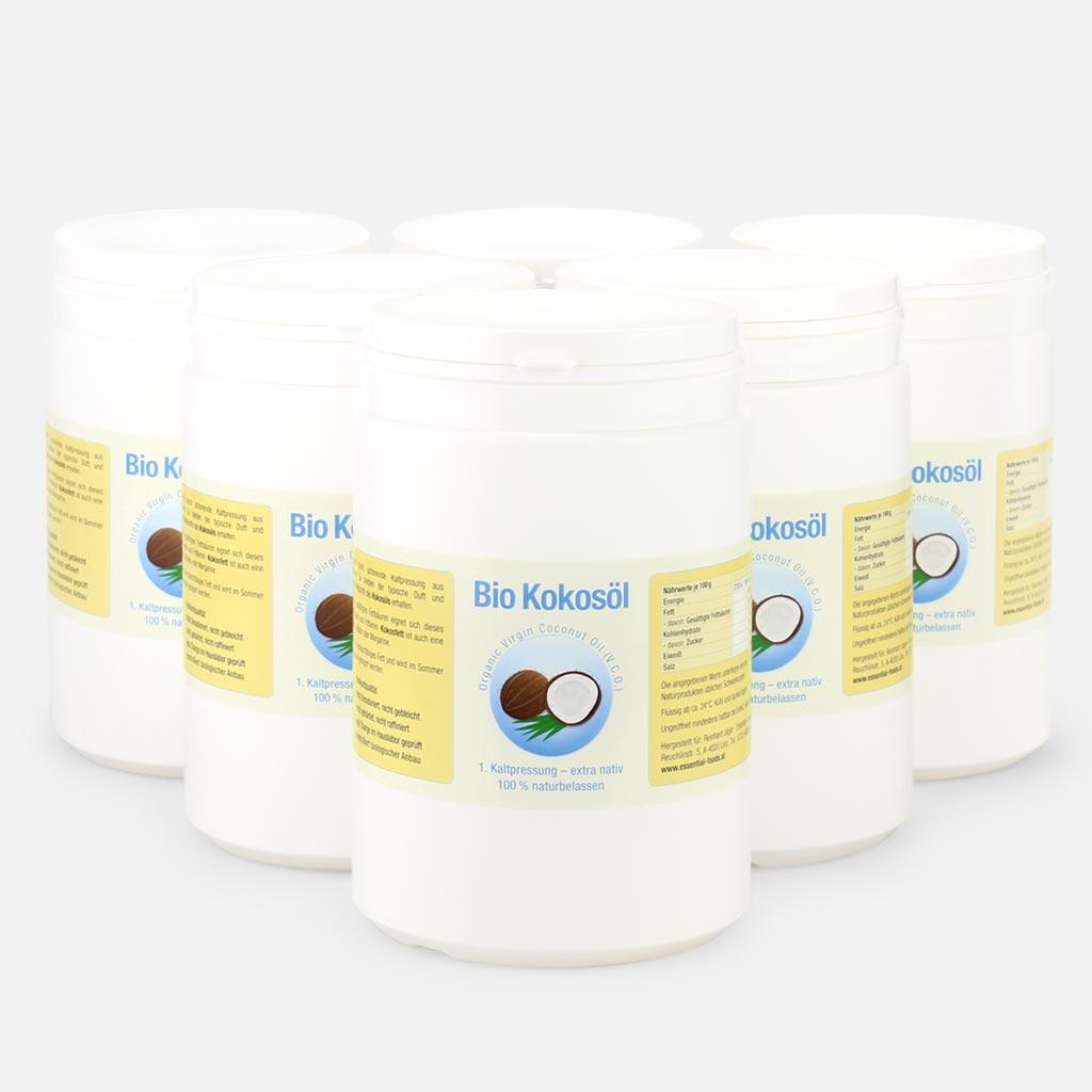 6 Liter Bio Kokosöl (V.C.O.) | Essential Foods